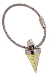 Core Drill Key Chain