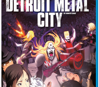 Detroit Metal City on Blu-ray (anime review)