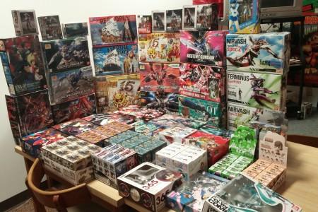 New Arrivals: Gundam Models and Mini Figures