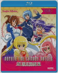 Hayate The Combat Butler-Can't Take My Eyes Off You: Complete Collection season 3