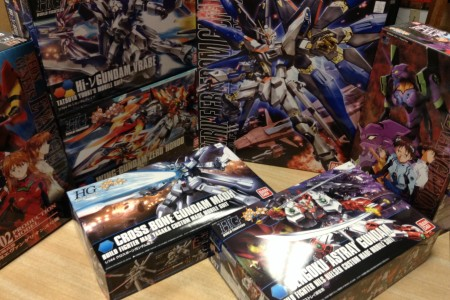 Model Kits and Trading Figure Now In