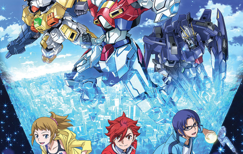 Gundam build fighters try anime review animeggroll for Domon gundam build fighters try
