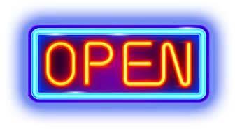 Open Monday 12.18.17
