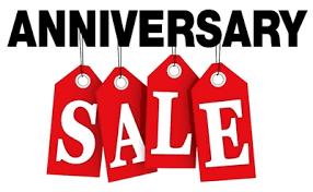 9th Anniversary Sale